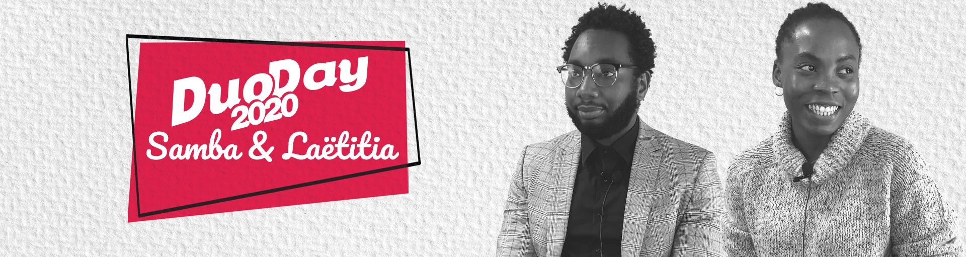 DuoDay-2020-Samba-et-Laetitia